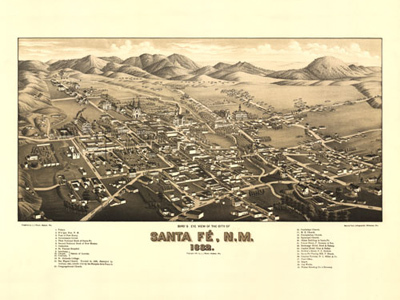 Historical Maps of New Mexico