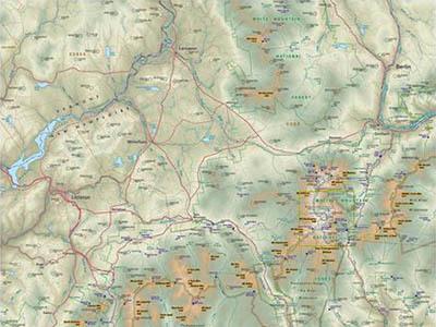 Raised Relief Maps of Maine
