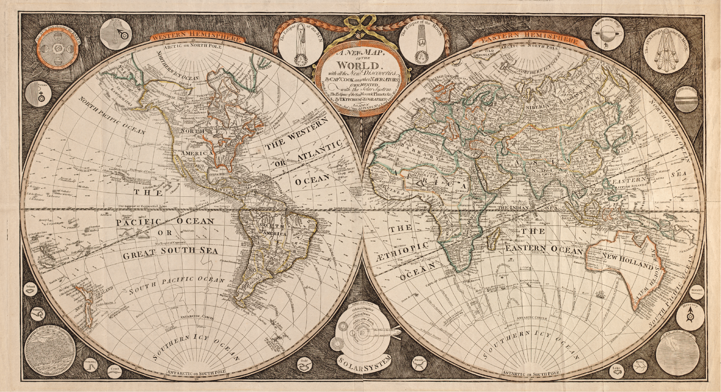 'Old World' Maps