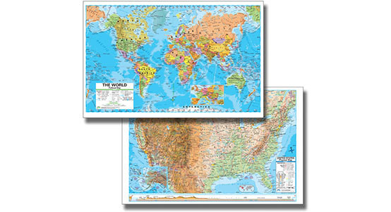 Student Desk Maps