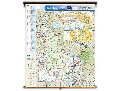 Idaho State Classroom Maps