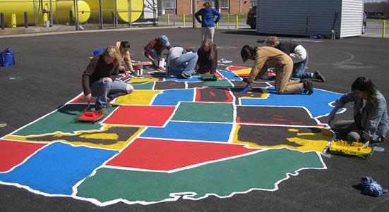 Playground Map Stencils