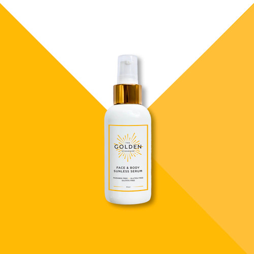 This super concentrated Sunless Serum gives you a flawless, even tan while leaving your skin feeling hydrated and smooth. Add to your favorite moisturizer for fast and easy application and a head to toe perfect glow.