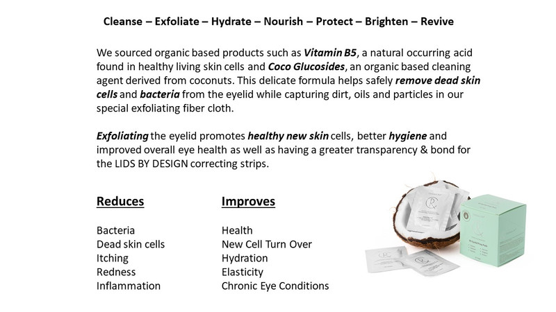 B5 Eyelid Prep Pads 30 pack - SOLD OUT