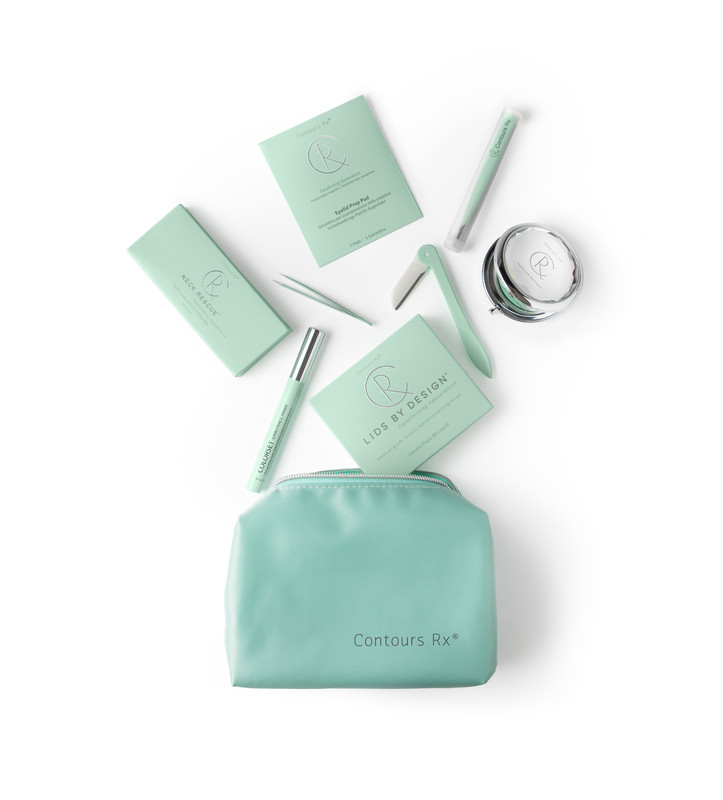 Cosmetic Bag is used to carry all your favorite Contours Rx products in this stain-resistant bag. Great for travel