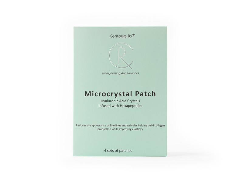 Microcrystal patch - formula for anti-aging, reduces wrinkles and fine lines to help keeps skin looking firm and youthful