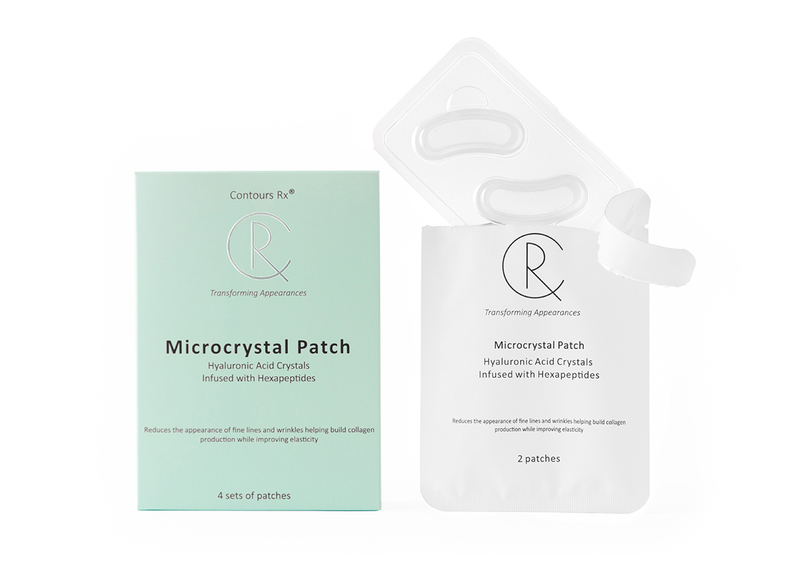 Microcrystal patch - formula for anti-aging improve wrinkles and fine lines to keep your skin looking firm and youthful