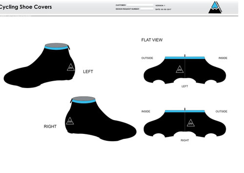 Oceanside Cycling Shoe Covers