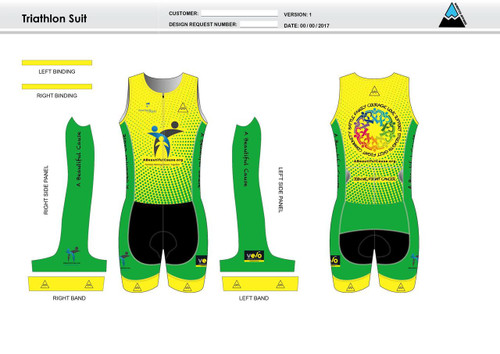 A Beautiful Cause Sleeveless Tri Suit