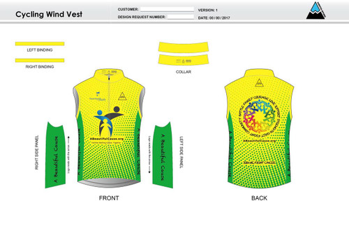 A Beautiful Cause Cycling Wind Vest
