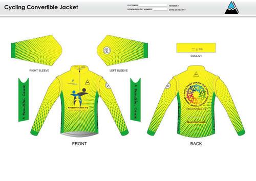 A Beautiful Cause Convertible Jacket
