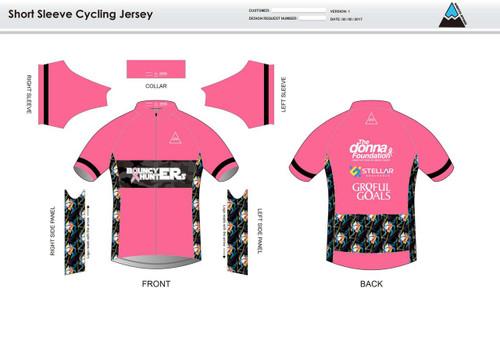 Gr8ful Goals Short Sleeve Cycling Jersey