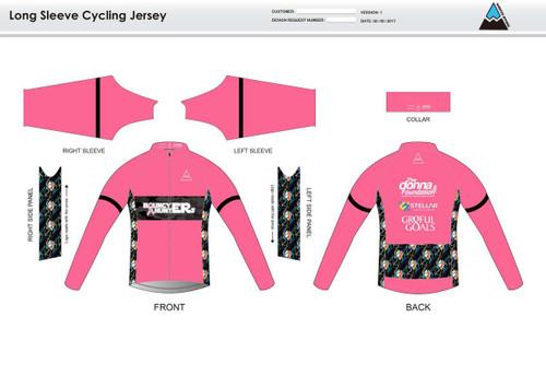Gr8ful Goals Long Sleeve Cycling Jersey