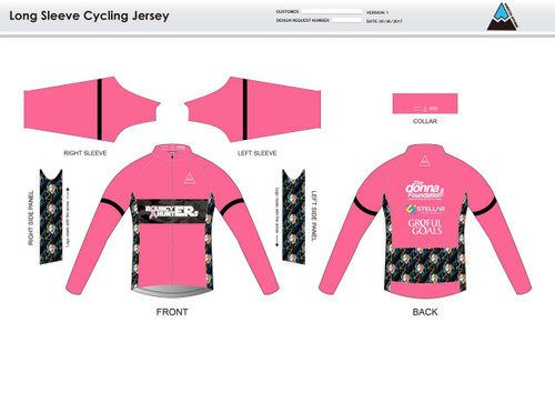 Gr8ful Goals Long Sleeve Thermal Cycling Jersey
