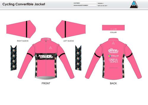 Gr8ful Goals Convertible Jacket