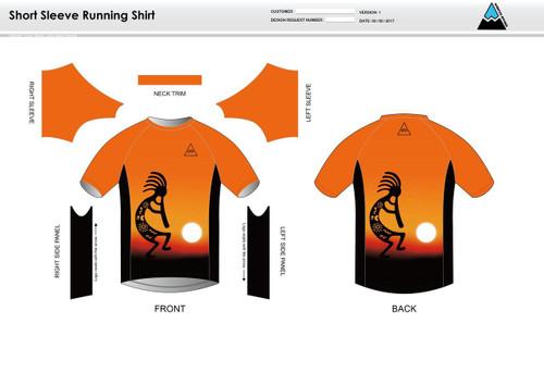 Kokopelli Short Sleeve Running Shirt