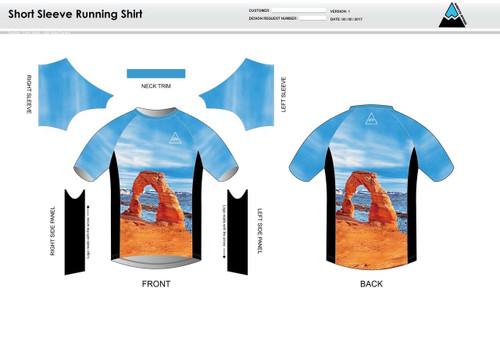 Arches Short Sleeve Running Shirt