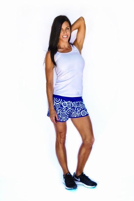 Blue Daze Women's Flash Running Shorts