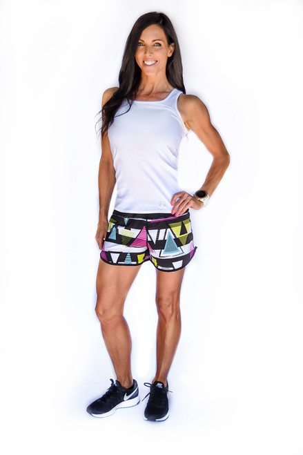 Vivid Women's Flash Running Shorts