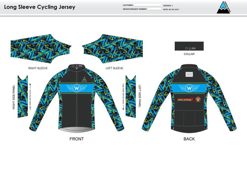 Flying W Long Sleeve Thermal Cycling Jersey