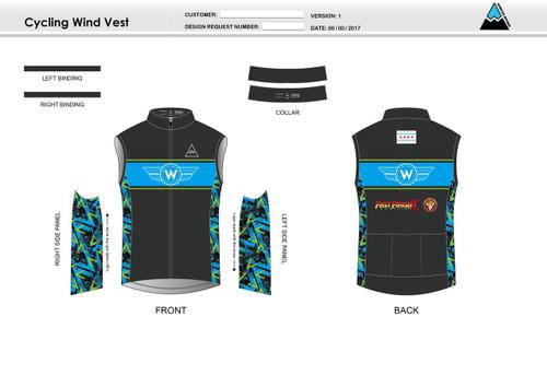 Flying W Cycling Wind Vest