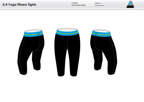 Flying W Women's 3/4 Fitness Tights