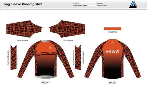 Shaw Long Sleeve Running Shirt