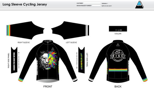RISE Long Sleeve Cycling Jersey