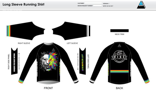 RISE Long Sleeve Running Shirt