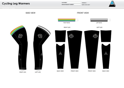 RISE Cycling Leg Sleeves