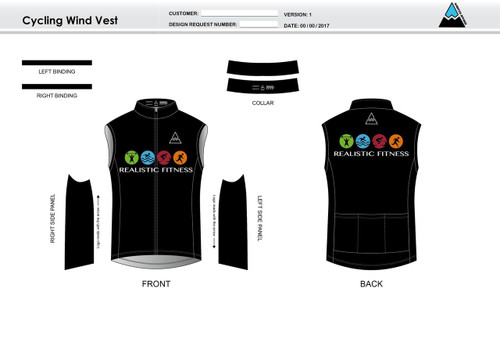 Realistic Fitness Cycling Wind Vest