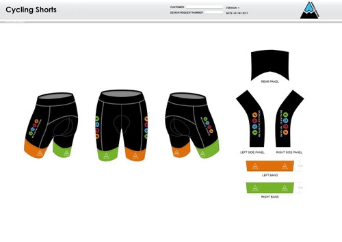 Realistic Fitness Cycling Shorts