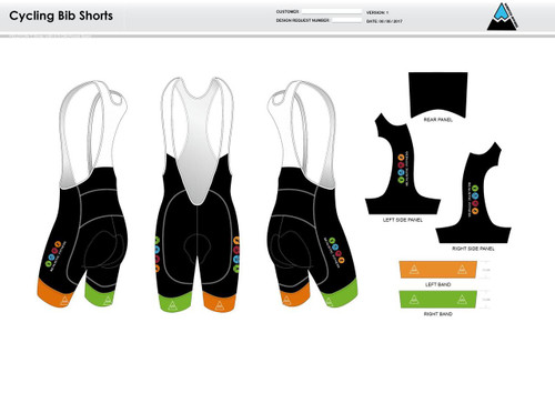 Realistic Fitness Cycling Bibs
