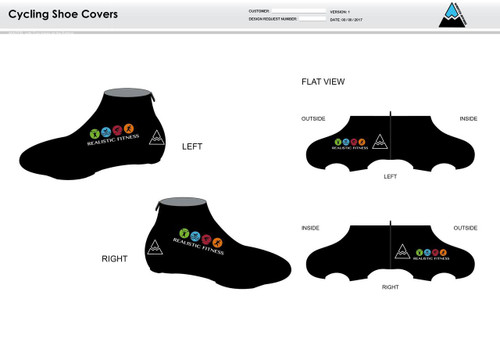 Realistic Fitness Cycling Shoe Covers