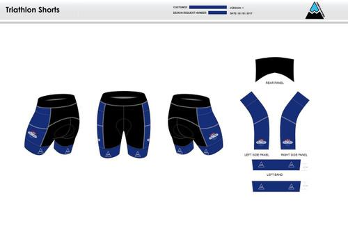 Triple Threat Men's Tri Shorts