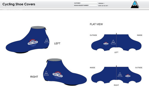 Triple Threat Cycling Shoe Covers