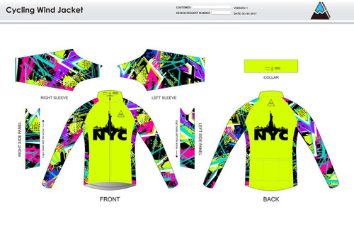 NYC Neon Wind Jacket