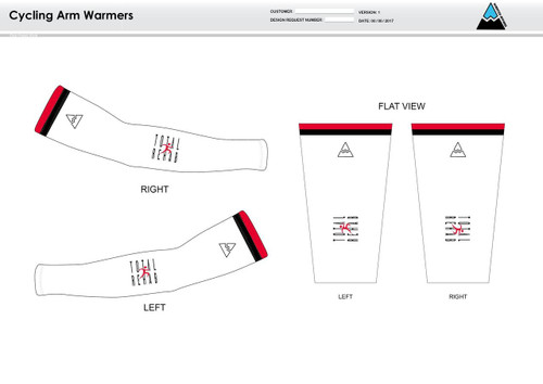 Carr Cycling Arm Sleeves