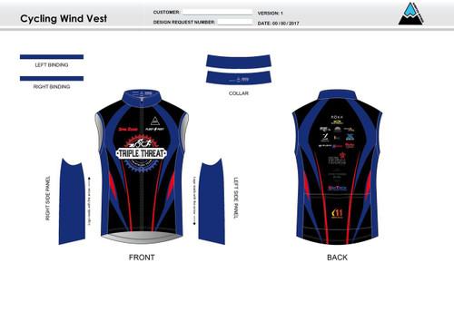 Triple Threat Cycling Wind Vest