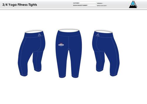 Triple Threat Women's 3/4 Fitness tights
