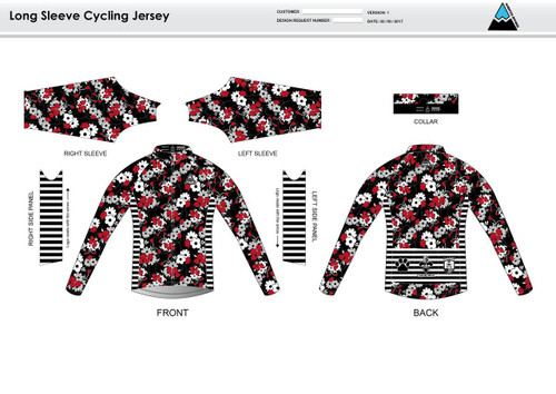 Cajun Mile Long Sleeve Thermal Cycling Jersey