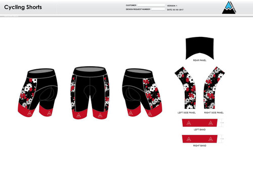 Cajun Mile Cycling Shorts