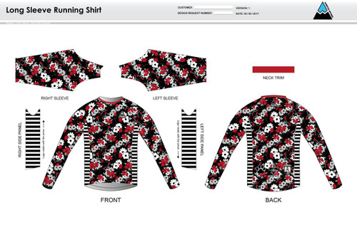 Cajun Mile Long Sleeve Running Shirt