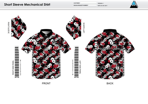 Cajun Mile Adult Mechanic Shirt - UNISEX SIZING