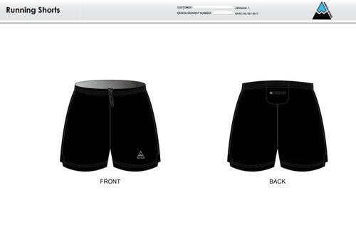 Cajun Mile Running Shorts