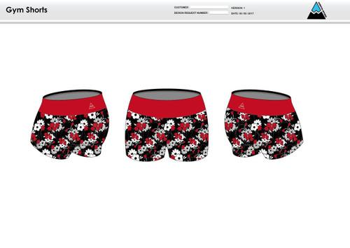 Cajun Mile Women's Compression Fitness Shorts