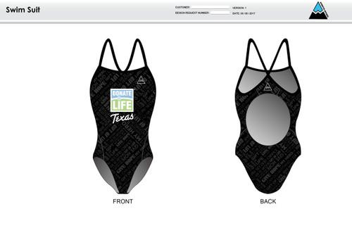 Donate Life Women's One Piece Swimsuit