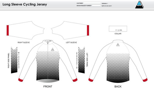 Orgill Long Sleeve Cycling Jersey