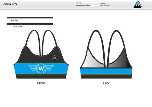 Flying W Women's Two Piece Swimsuit