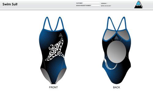 Gulf Coast Multisport Black Women's One Piece Swimsuit